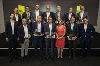 Die Gewinner: AUTO BILD und SCHWACKE küren die Wertmeister 2019 im Axel-Springer-Haus in Berlin.