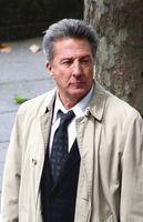 Dustin Hoffman während der Dreharbeiten zu Liebe auf den zweiten Blick in London (2008)