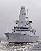 Lenkwaffenzerstörer der Daring-Klasse 2006 der britischen Royal Navy