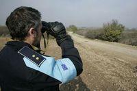 Ein Frontex-Polizist  (Symbolbild)