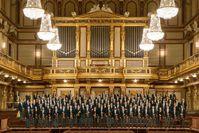 Die Wiener Philharmoniker im Goldenen Saal des Wiener Musikvereins   Bild: ZDF Fotograf: ZDF/Lammerhuber/Edit.Lammerhuber