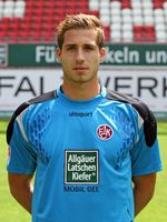 Kevin Trapp noch im Trikot des  1. FC Kaiserslautern  (2011)