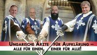 """Bild: Screenshot Video: """" Ungarische Ärzte für Aufklärung – Gruß und Dank an Kla.TV"""" (www.kla.tv/19126) / Eigenes Werk"""