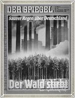 Waldsterben: Schon wieder wie in den 1980er Jahren? Am meisten ist der Wald von Windkraftanlagen, Straßen und Wohnungsbau bedroht (Symbolbild)