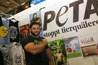 """YOU 2013, Patrik Baboumian von PETA. Bild: """"obs/Messe Berlin GmbH"""""""