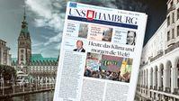 Im Januar 2020 wird die neue Ausgabe von UNS HAMBURG in über einer halben Million Haushalte verteilt.