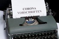 Corona Vorschriften (Symbolbild)