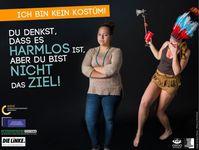 """Bild: Plakatkampagne """"Ich bin kein Kostüm!"""""""