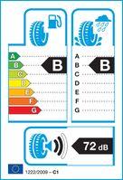 """Die neue EU-Verordnung über die Kennzeichnung von Reifen ist am 1. November 2012 in Kraft getreten. Die Piktogramme auf dem neuen Label geben Aufschluss über Kraftstoffeffizienz, Nasshaftung und Abrollgeräusch des Reifens. Mit der Einstufung von """"A"""" (beste Kategorie) bis """"G"""" (schlechteste Kategorie) sollen sie dem Verbraucher beim Reifenkauf helfen."""