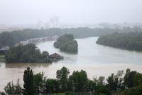 Hochwasser (Symbolbild)