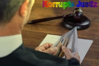 Korrupte Richter: Statistisch sind 1% aller Menschen kriminell. Somit auch 1% aller Richter, Polizisten, Politiker, Ärzte, Verwaltungsangestellten, etc. Wer kann sie stoppen? (Symbolbild)