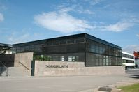 Thüringer Landtag: Plenarsaal, von außen