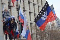 Krim: Kundgebung in Donezk