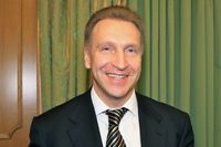 Igor Schuwalow, März 2010
