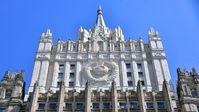 Gebäude des russischen Außenministeriums in Moskau
