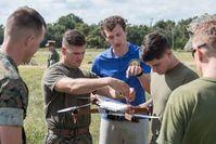 Test-Drohne: extra für eine Mission gedruckt. Bild: David McNally, army.mil