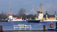 Kanalfähren Breslau und Berlin in Brunsbüttel