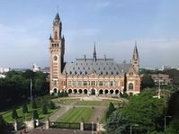 Sitz des UN-Gerichtshofes in Den Haag