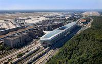 """Luftbild von Terminal 1 am Flughafen Frankfurt. Bild: """"obs/Fraport AG"""""""