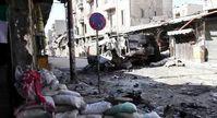 Syrien: Zerstörter Straßenzug