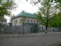 Residenz des Botschafters in der alten Villa