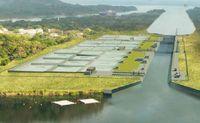 Panama-Kanal: Darstellung der neuen Schleusen