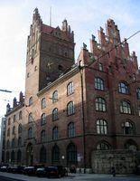 Gerichtsgebäude in der Prielmayerstr. 5
