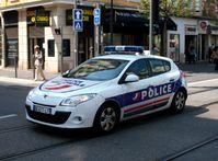 Frankreich: Französisches Polizeiauto