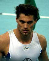 Björn Otto bei den Deutschen Hallenmeisterschaften 2007 in Leipzig