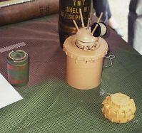 Einige Modelle von Antipersonenminen Bild: David Monniaux
