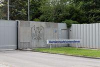 BND: Haupteingang der Zentrale in Pullach