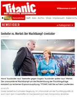 Seehofer vs. Merkel: Der Machtkampf-Liveticker