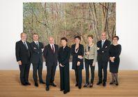 Offizielles Foto des Bundesrates 2012