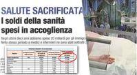 """Italien: In den letzten 10 Jahren 175 Krankenhäuser geschlossen, aber 9.282 """"Aufnahmezentren"""" eröffnet"""