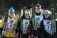 Weltcup in Ruhpolding 2013 - Staffel der Damen Bild: DSV