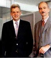 Fondsgesellschafter und Bankbesitzer in einem: Gerhard Fischer (links) und Eduard Unzeitig. Bild: GoMoPa.net  DSK Leasing