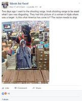 Zielscheibe: Geschäftemacherei ohne Ende. Bild: facebook.com/Sabree Ata Yousef