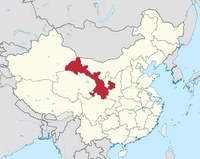 Provinz Gansu