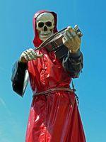 Skelett: 4D-Sterbe-Erlebnis in China als Attraktion. Bild: pixelio.de/A. Damm