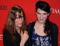 Patti Smith mit ihrer Tochter.