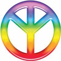 Das Friedenssymbol in seiner richtigen Ausrichtung (MAN-Rune, der Mensch in Verbindung mit den himmlichen Kräften)