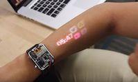 """""""LumiWatch"""" in Aktion: Prototyp könnte User-Verhalten ändern. Bild: cmu.edu"""