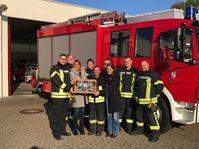 Anerkennung für die ehrenamtlichen Helfer der Feuerwehr Weeze