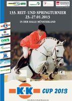 K+K Cup Münster 2013 Plakat
