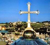 Vergoldetes Kreuz (Symbolbild)