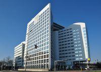 Das Gebäude des Internationalen Strafgerichtshofes (IStGH) und von Eurojust in Den Haag