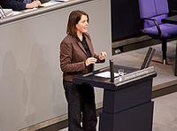Christine Buchholz im Deutschen Bundestag