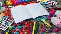 Schulmaterial (Symbolbild)
