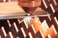 Laser: Dioden-Lösung schneidet Metall mit hoher Effizienz. Bild: teradiode.com