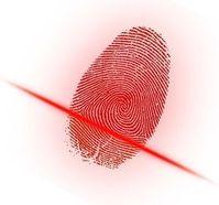 Digital erfasster Fingerabdruck: Hacker klauen Daten.